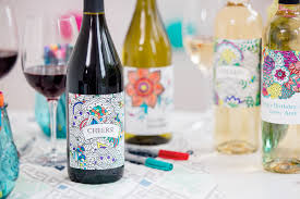 Cool Wine Labels Cool Packaging Color It Yourself Wine Label Paperspecs