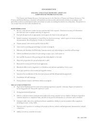Resume Sample For Human Resource Position sample resume for human resource assistant 27