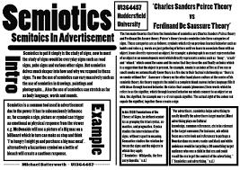 essay poster semiotics michaelbutterworth semiotics poster