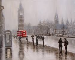 Image result for london in rain