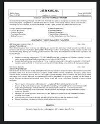 Project Manager Resume Objective Examples Resume Objectives For ...