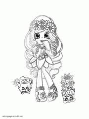 Shopkins Coloring Pages Season 1 2 3 4 5 6 And 7