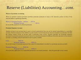 What is a waiver of subrogation? Accounting In Insurance Companies Basic Concepts