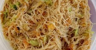 fried rice noodle bihun goreng