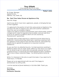 Cover Letter Addressed To Two People Part Time Job Cover Letter Sample