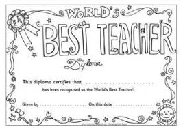 Best Teacher Certificate Templates Free Stupefying Best Teacher Coloring Pages Sheets For Appreciation