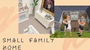 Sims Freeplay | 🏡 Small Family Home | Two Bedroom House | Small Family  House Design - YouTube