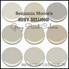 Benjamin Moore\u0027s Best Selling Grays - Evolution of Style