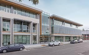facebook office palo alto. Night Exterior Entrance And Windows Of Office Building Visa Palo Alto Brick-inc Architects Facebook
