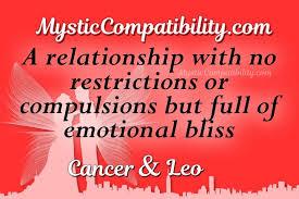 Cancer Leo Compatibility Mystic Compatibility