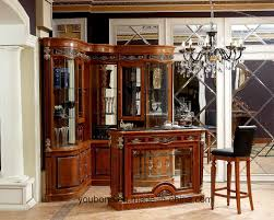 italian wood furniture. China 0029 Italian Royal Wooden Furniture Style Luxury Brass Decoration Bar Table - Living Room Set, Wood