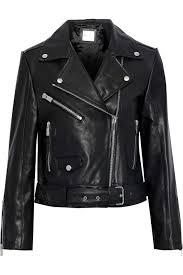 Anine Bing Size Chart Jett Leather Biker Jacket