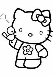 Recognizable by her white fur and pink or red accessories, hello kitty is popular to all ages, whether it's kids or adults! Free Printable Hello Kitty Coloring Pages For Kids