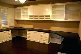 home office cabinets. Delighful Home Office Desk Cabinets Built In Home  Intended