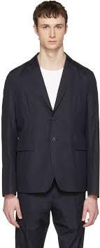 acne studios navy antibes blazer men acne studios mock leather jacket reble site