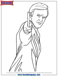 Small Picture Draco Malfoy Character From Harry Potter Series Coloring Page H