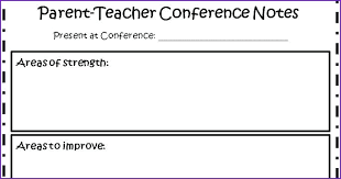 Gallery Of Parent Teacher Conference Agenda Template Board Meeting