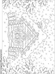 Houses Coloring Pages Adult Houses Coloring Pages Printable House