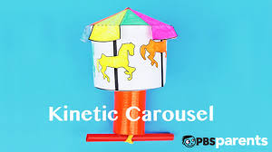 Diy Energy Toy Kinetic Energy Carousel Adventures In Learning