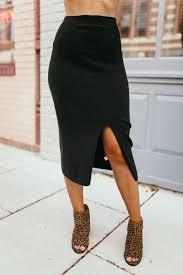 Free People Skirt Size Chart Free People Skyline Midi Skirt Black