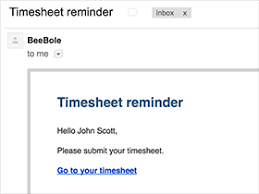 Automated Timesheet Employee Time Tracking System Beebole Timesheet Features