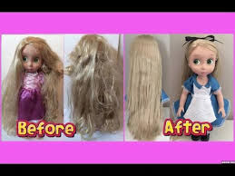Barbie Hairstyles 84 Awesome HOW TO FIX DOLL HAIR Restore Tangled Frizzy Messy Doll Hair