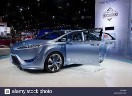 Toyota FCV-R fuel cell powered concept car. 2012 Chicago Auto Show ...