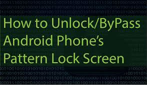 Pattern Password Disable Mesmerizing Easily BypassCrackUnlock Android Pattern Lockscreen PIN Or