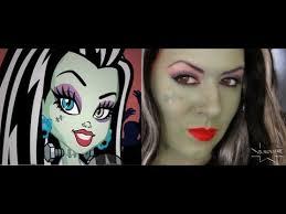 frankie stein makeup monster high