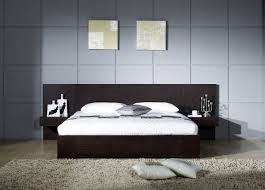 image modern bedroom furniture sets mahogany. Top 75 Skookum Modern Bedroom Mahogany Wood Low Platform Frame Extra Long Headboard Ideas Large Beige Shag Area Rug Plain White Pillow Covers With Full Size Image Furniture Sets S