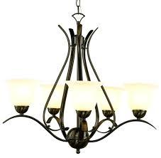 5 light chandelier bronze pl rob energy saver ribbon branched 5 light chandelier in bronze portfolio