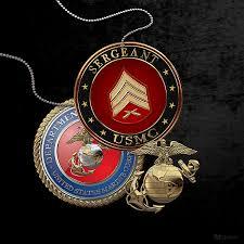 U S Marines Sergeant U S M C Sgt Rank Insignia Over Black Velvet Weekender Tote Bag