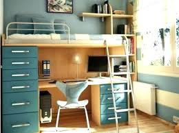 bunk bed office. bunk bed over desk and with amazing . office