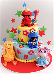 Sesame Street Kids Birthday Cake By Elitecakedesigns Sydney