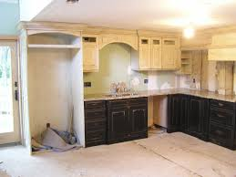 Image Of: Diy Distressed White Kitchen Cabinets