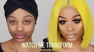 transform full glam makeup tutorial