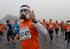 courir et la pollution de l'air ile ilgili görsel sonucu