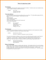 9 Heading For Business Letter Formatting Letter