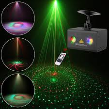 Laser Light Party Machine Laser Projector Suny 8 Red Green Gobos Indoor Sound Activated Dj Laser Light Machine Galaxy Colorful Wave Rgb Led Mini Projector Party Light Bedroom