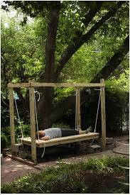 awesome how to make a swing bed build hanging easy d i y outdoor complete intended for decor