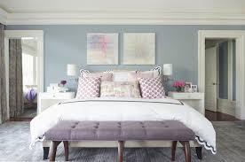 purple linen bench