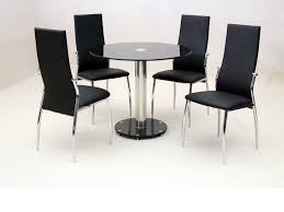 round glass dining room sets. Round Glass Dining Table Room Sets