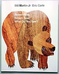 Image result for brown bear brown bear what do you see book cover