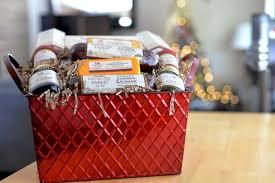 hickory farms gift basket shortbread fruit spread mustard 3