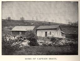 shays rebellion person daniel shays image picture of daniel shay s home in pelham