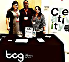 the creative office. Fine Creative The TCG Team At The Houston Interactive Marketing Associationu0027s  Strategies Event  Creative And Office