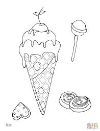 Tranh tô màu] – 15 bức tranh tô màu hình cây kem, hình bánh cực dễ thương  cho bé trai, bé gái – Tinh Tinh