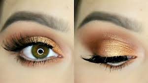 korean eye makeup copper eye makeup