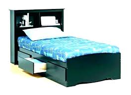 Twin Xl Platform Storage Bed Frame With No Headboard Under ...
