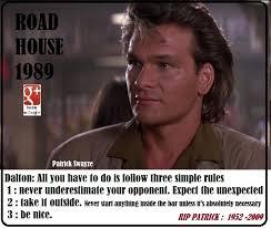 Roadhouse Quotes Classy QUOTES CITATIONS DE FILMS